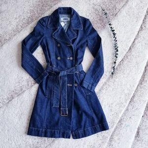 DENIM PEA COAT OLD NAVY jacket